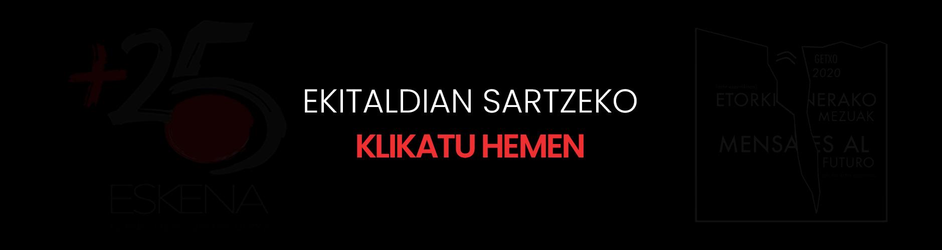 Etorkizunerako mezuak banner